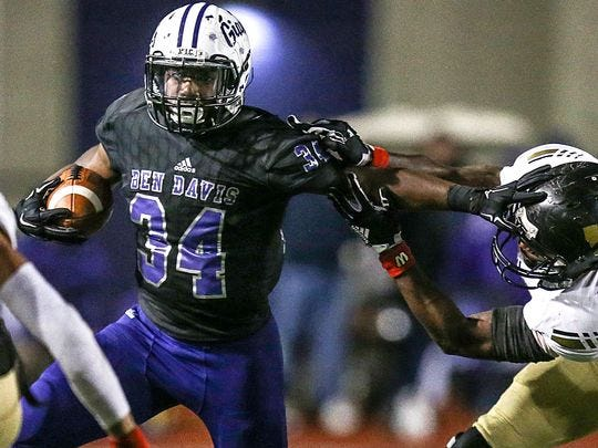 Delbert Mimms will be a go-to running back for Ben Davis.
