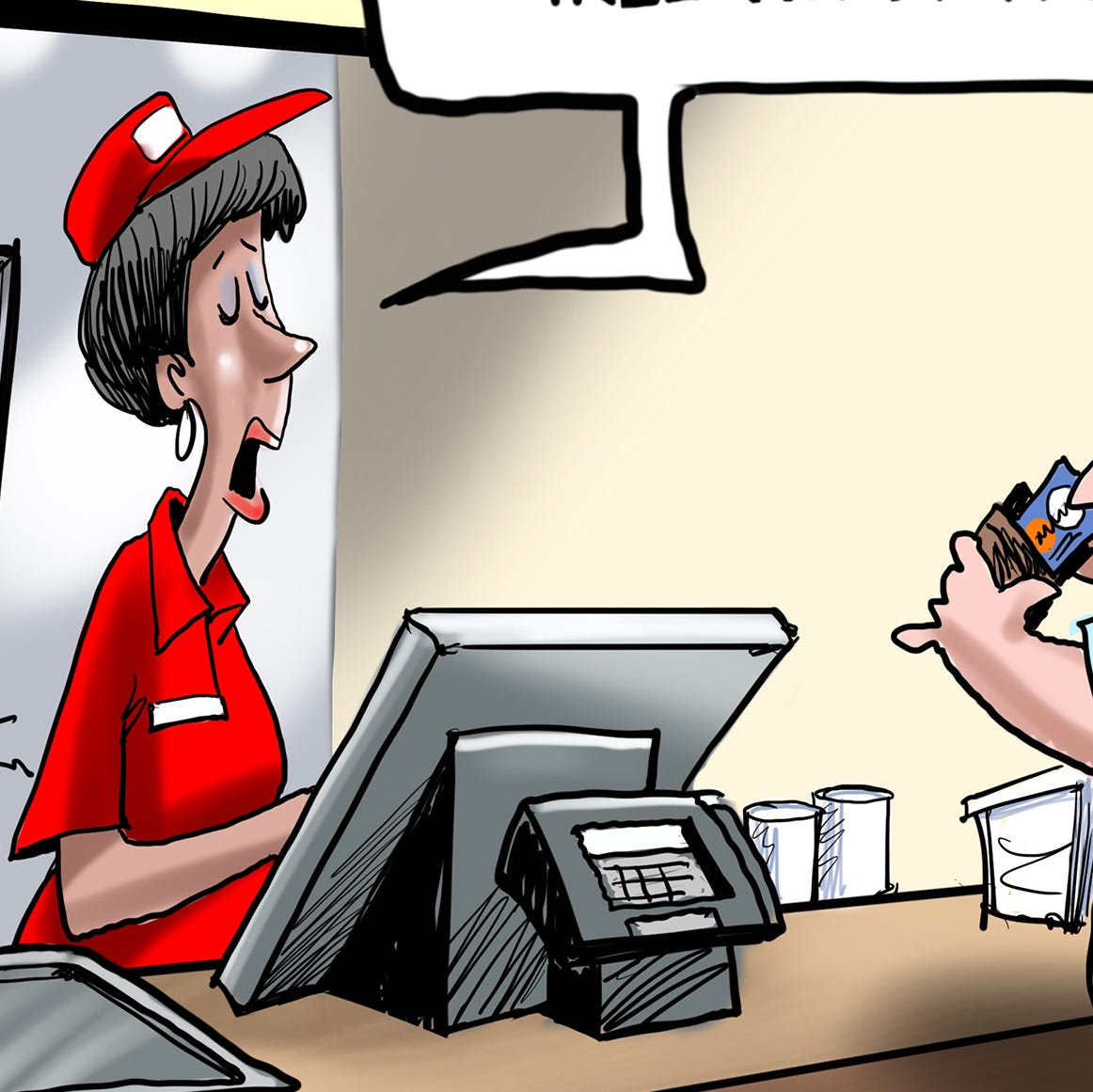 Cartoonist Gary Varvel: Plastic or paper straw problem