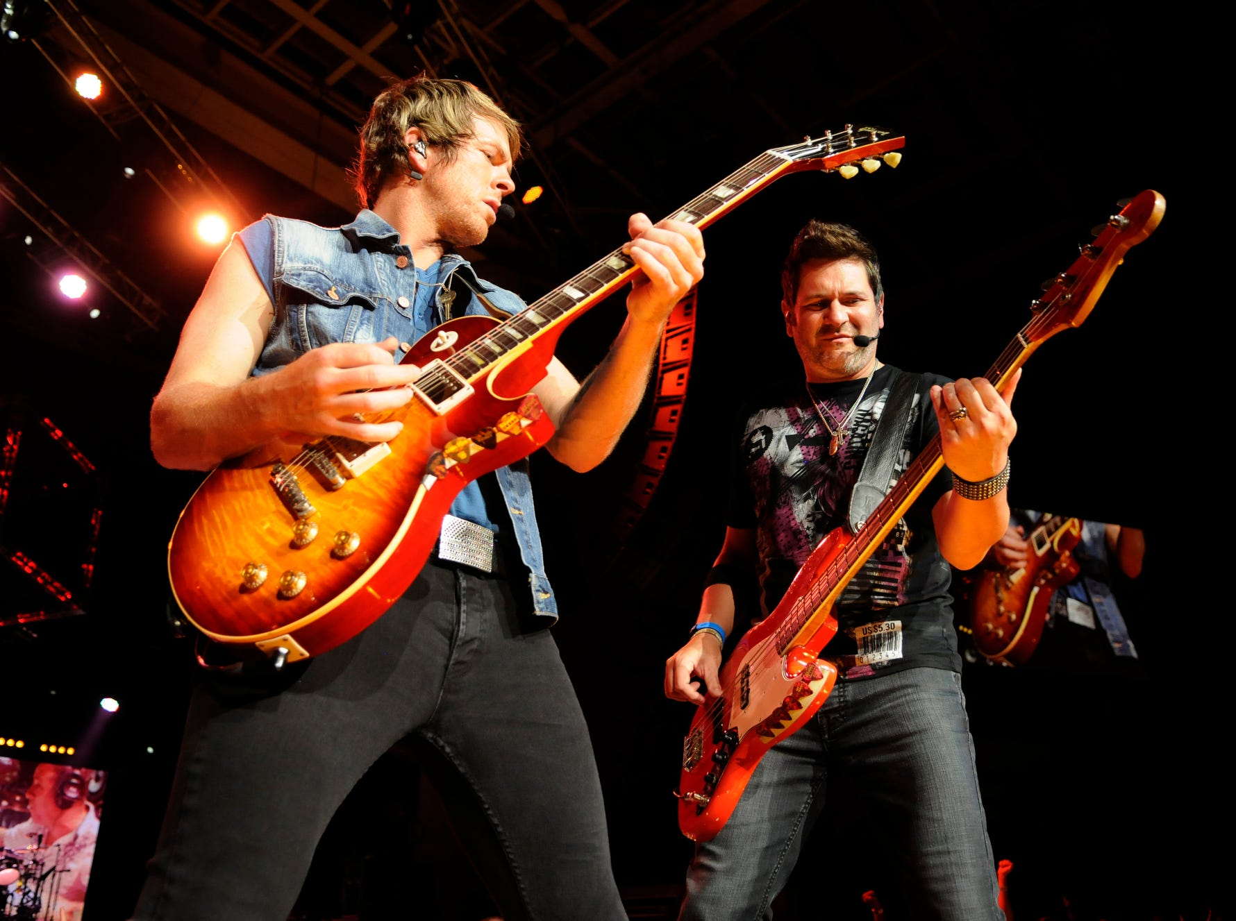 Rascal Flatts performs at Klipsch Music Center in Noblesville, Aug. 31, 2012.