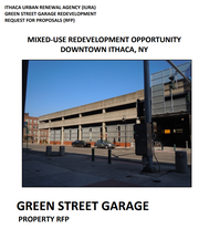 Ithaca Green Street parking site: Big plans from developers for apartments, other uses.