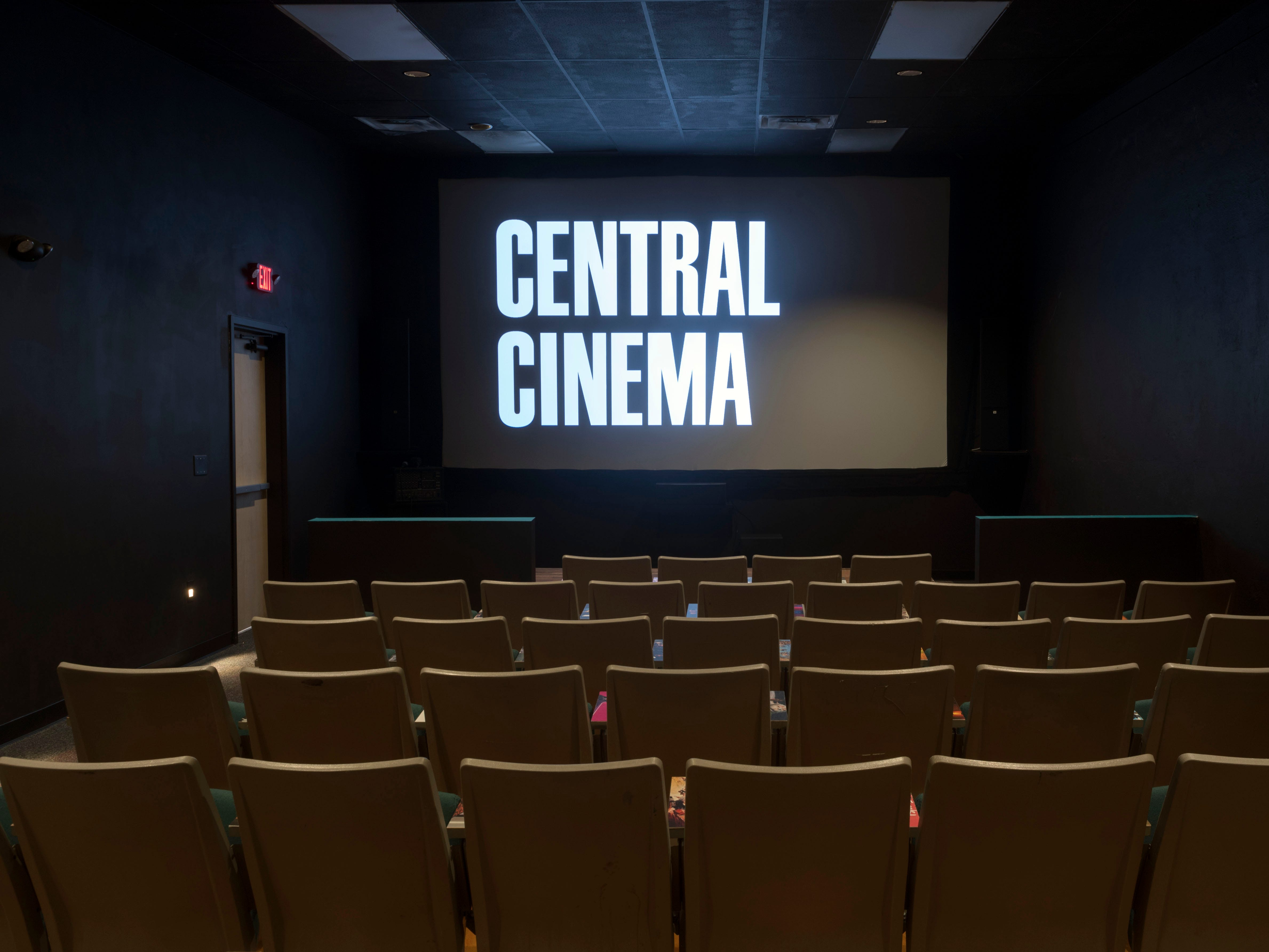 Central Cinema is a single-screen independent movie theater in Happy Holler. The theater will screen first-run indies and documentaries along with classic movies.