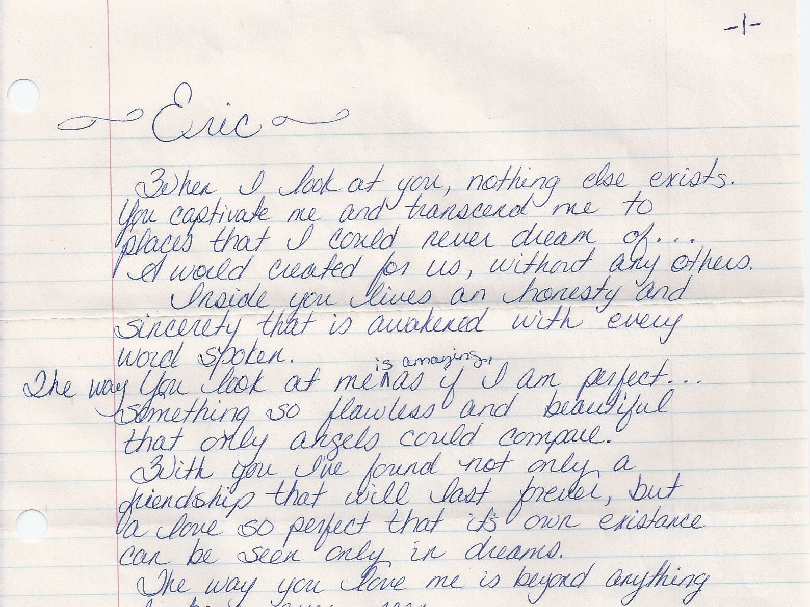 A handwritten letter by Christa Gail Pike that is for sale on the website Serial Killers Ink. The website sells materials provided by those who are incarcerated. Pike, who was sentenced to death for the 1995 torture slaying of Colleen Slemmer, a fellow Knoxville Job Corps student, has several items for sale on the website. (serialkillersink.net)