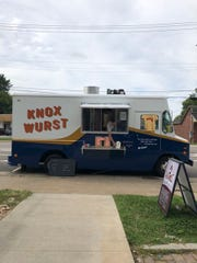 KnoxWurst food truck is open and ready for business. August 2018