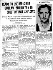 A KNS news article on Gus McCoig from Feb. 9, 1936