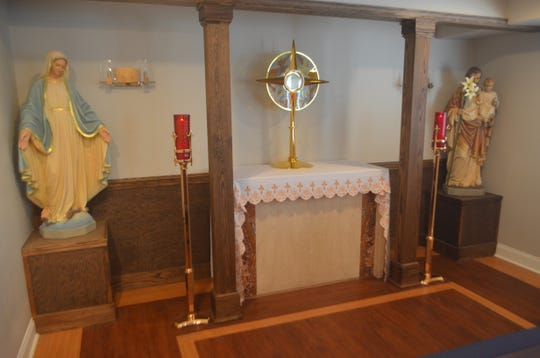 The adoration chapel should provide a more intimate space for spiritually related activities for students.