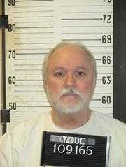 Dennis Wade Suttles, sentenced to death for killing Gail Rhodes.