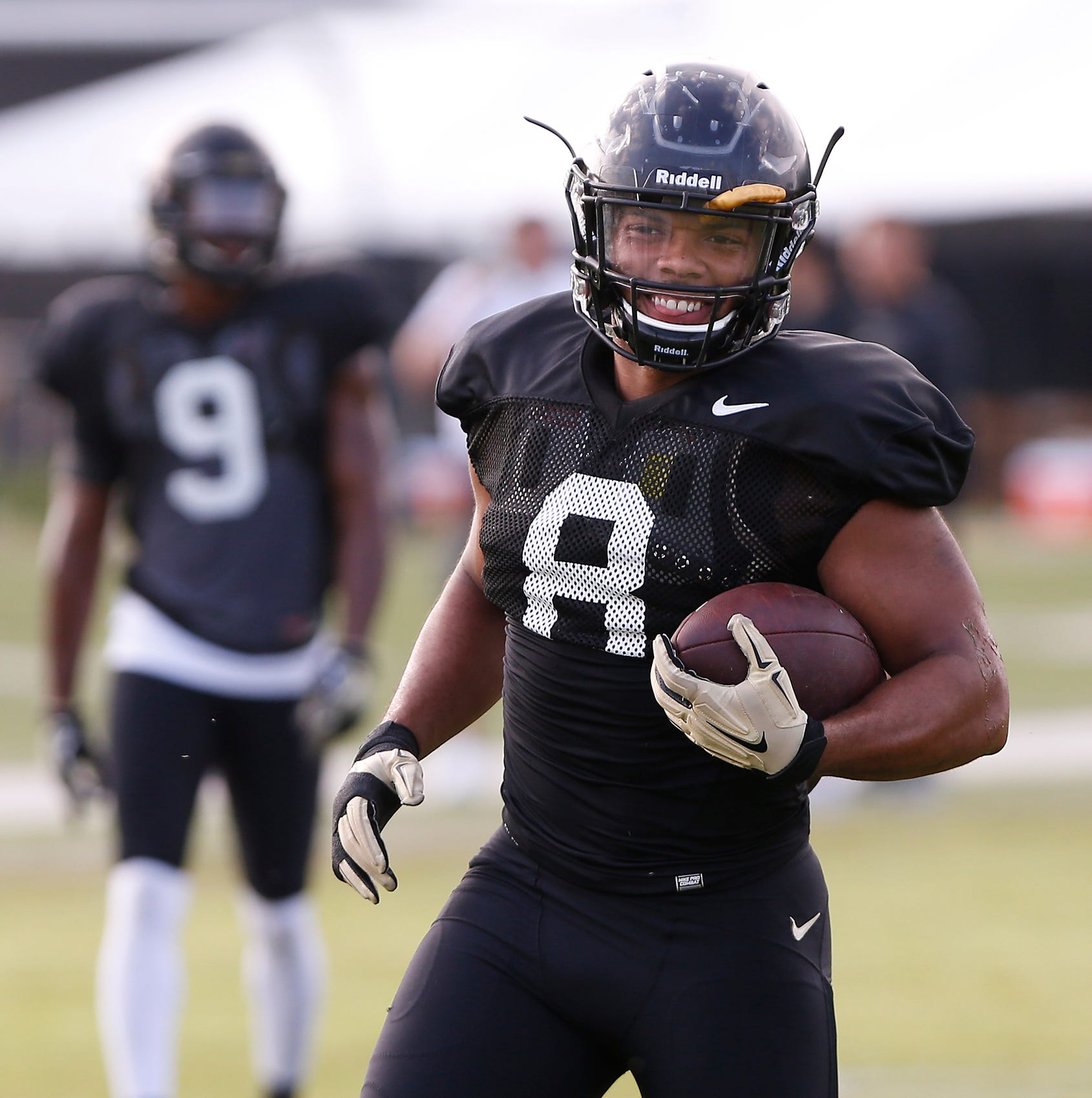 Purdue running back Markell Jones sheds weight, ready for senior season