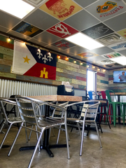 An interior look at Cafe 20.3.