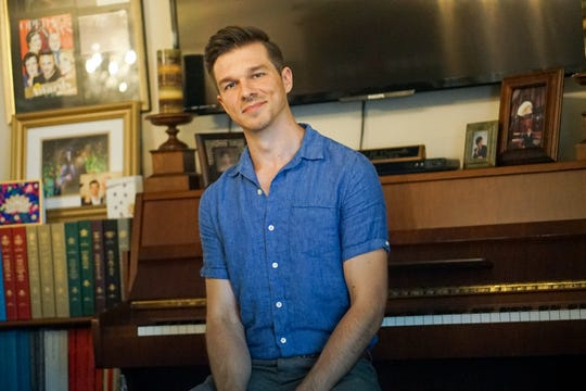 When he's not singing opera across the globe, Andre' Courville of Henderson enjoys fishing, gardening, antique collecting and family genealogy research.