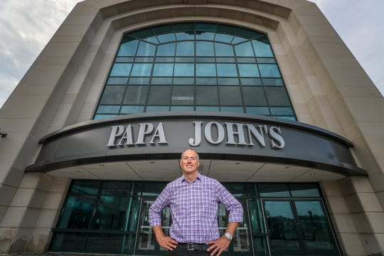 Papa John's CEO Steve Ritchie.August 10, 2018