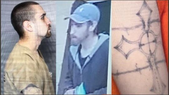 Shawn Christy, 27, is wanted by federal officials for allegedly making threats against President Donald Trump.