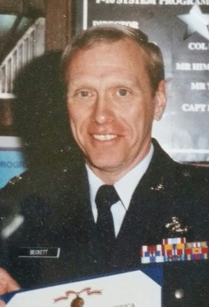 Richard Beckett was involved with ROTC at the University of Akron. Beckett graduated from UA in 1971, immediately entering the Air Force as a second lieutenant.