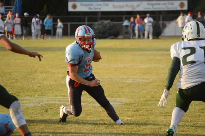 RIdgedale running back Josh Patterson is back for his senior year for the Rockets.
