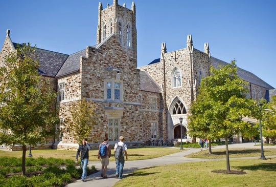 Rhodes College announced it would also be moving to online classes, that student activities were canceled and that most students living on-campus would have to leave.