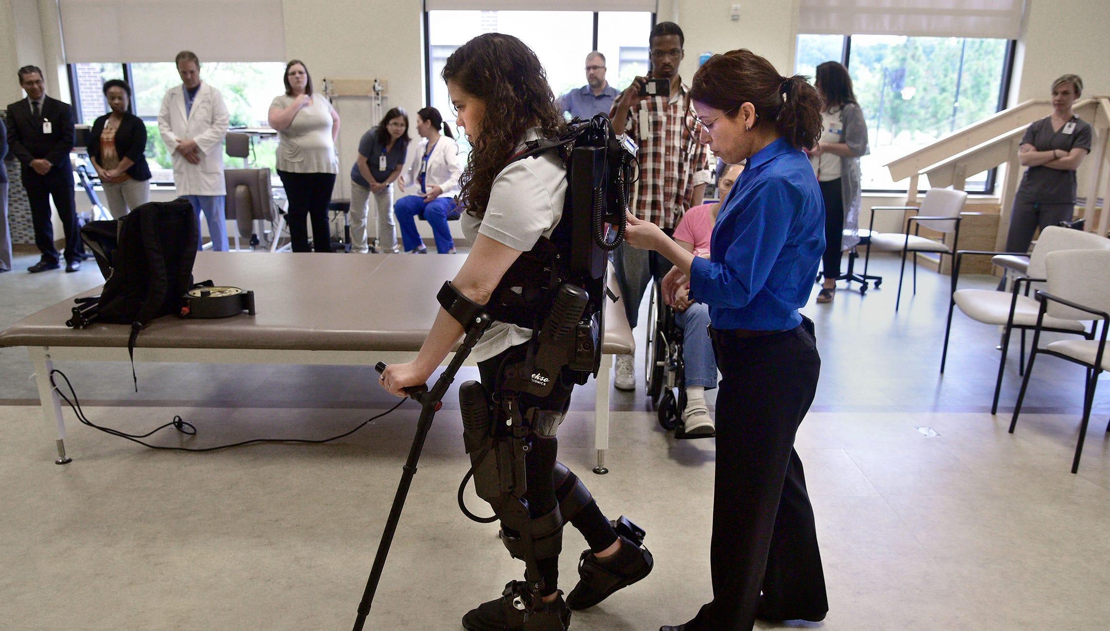 Germantown hospital gets robotic exoskeleton for stroke, spinal cord injury rehabilitation
