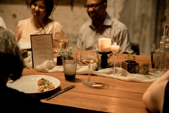 Each Taste of Gallery pop-up dinner is open to just 20 guests.