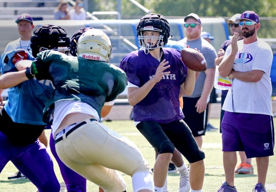 Waukesha North quarterback Johnny Kelliher will look to lead the Northstars to their first win of the year this week.