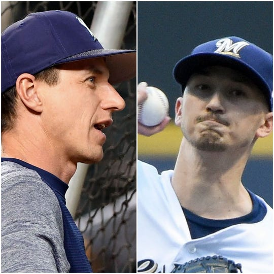 Craig Counsell and Zach Davies are both a tad older than they appear.