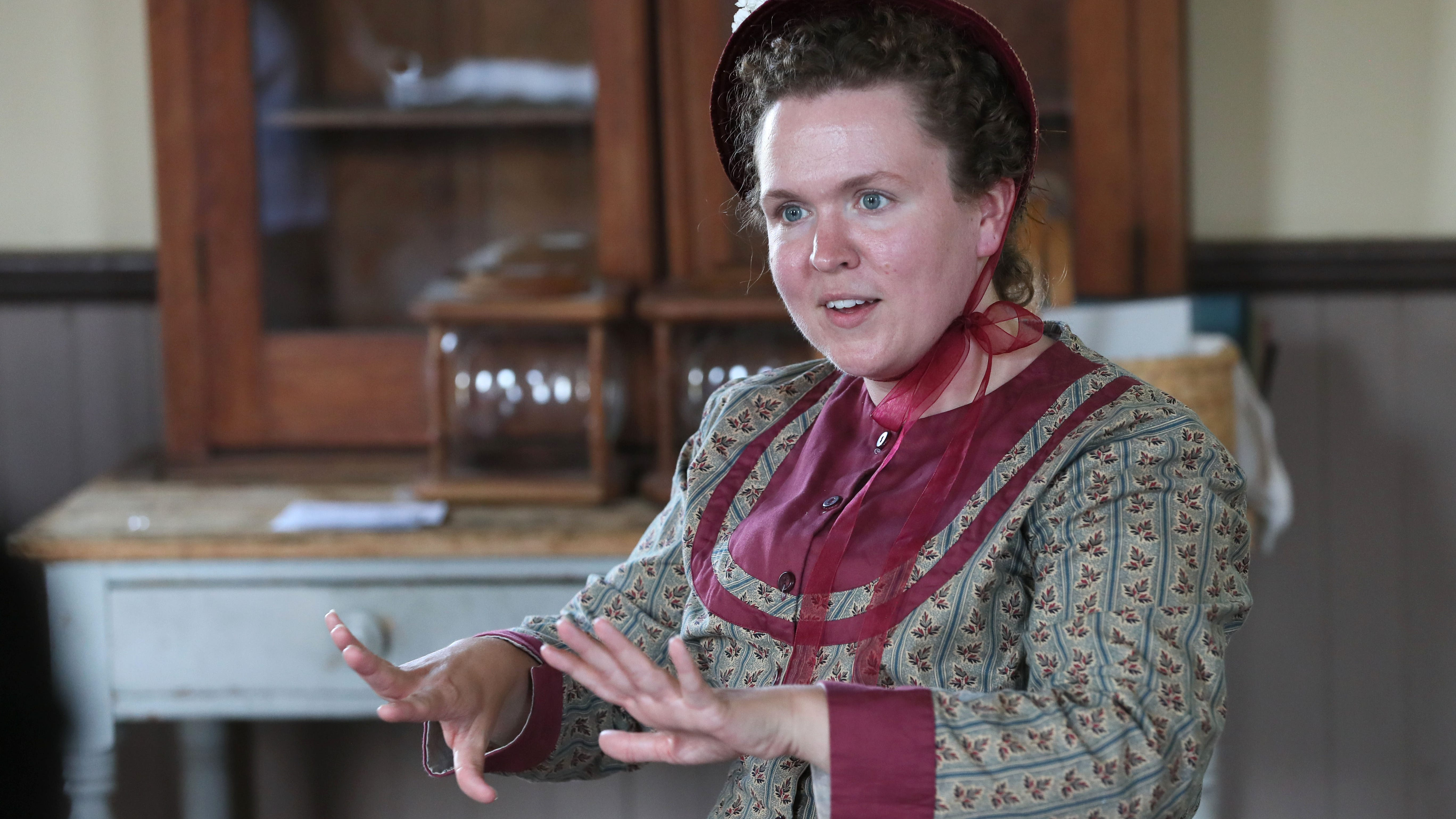 Old World Wisconsin visitors journey to 1843 through stories of immigrants
