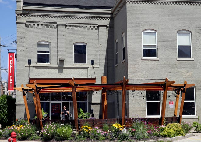 The patio outside Dandan in the Third Ward will be the scene of a dinner Aug. 19 with pet-nat and orange wines presented by the Voyager wine bar team.