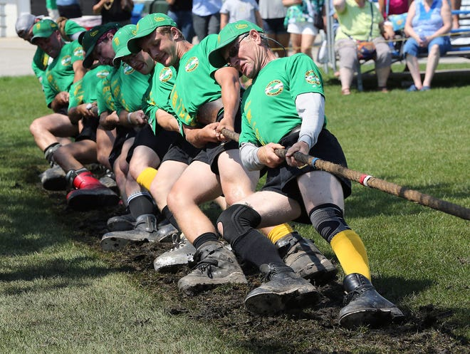 Tug-of-war is just one of the Celtic sports in competition at this year's Irish Fest.