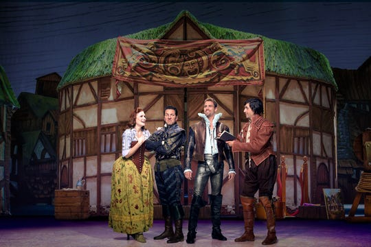 """The Bottom brothers try to invent musical comedy in the Renaissance in the musical """"Something Rotten!,"""" which comes to Milwaukee's Marcus Center Oct. 16-21."""