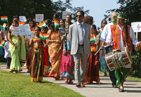 IndiaFest Milwaukee's daylong celebration in Humboldt Park Saturday will include a colorful parade.
