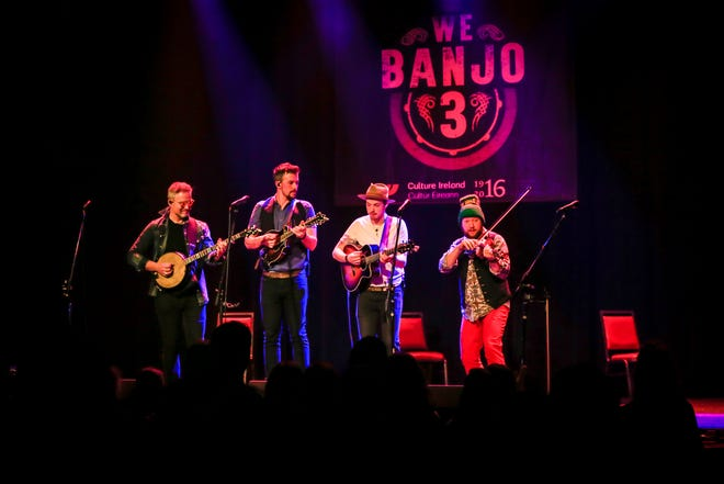 We Banjo 3 performs at Milwaukee's Pabst Theater.