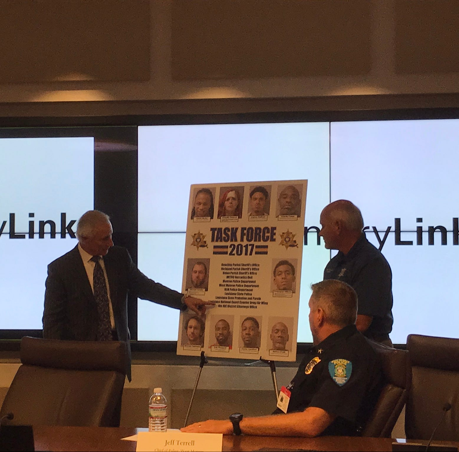 Local law enforcement agencies work together to tackle crime in Ouachita