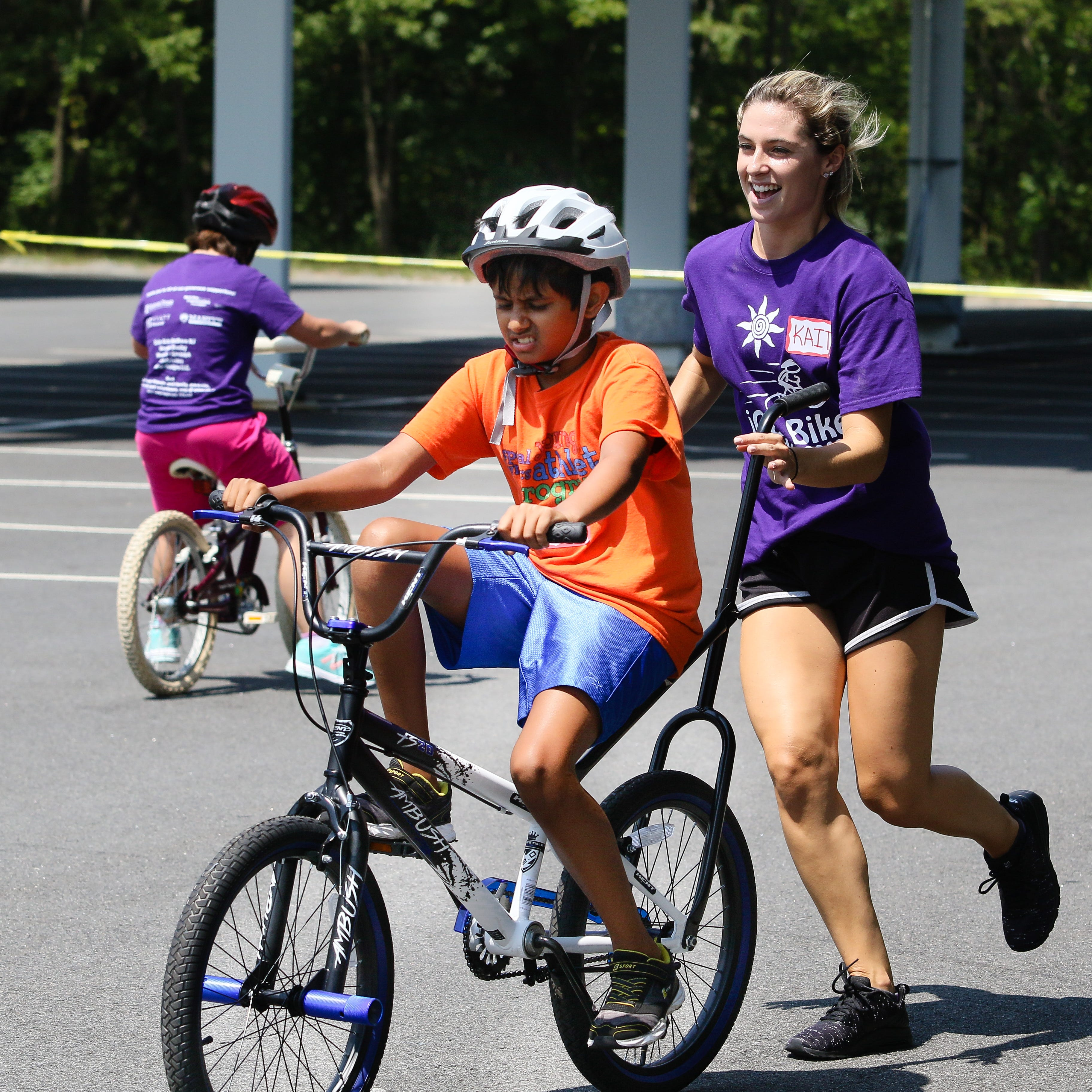 Confidence, achievement, mastery at iCan Bike Camp in Randolph