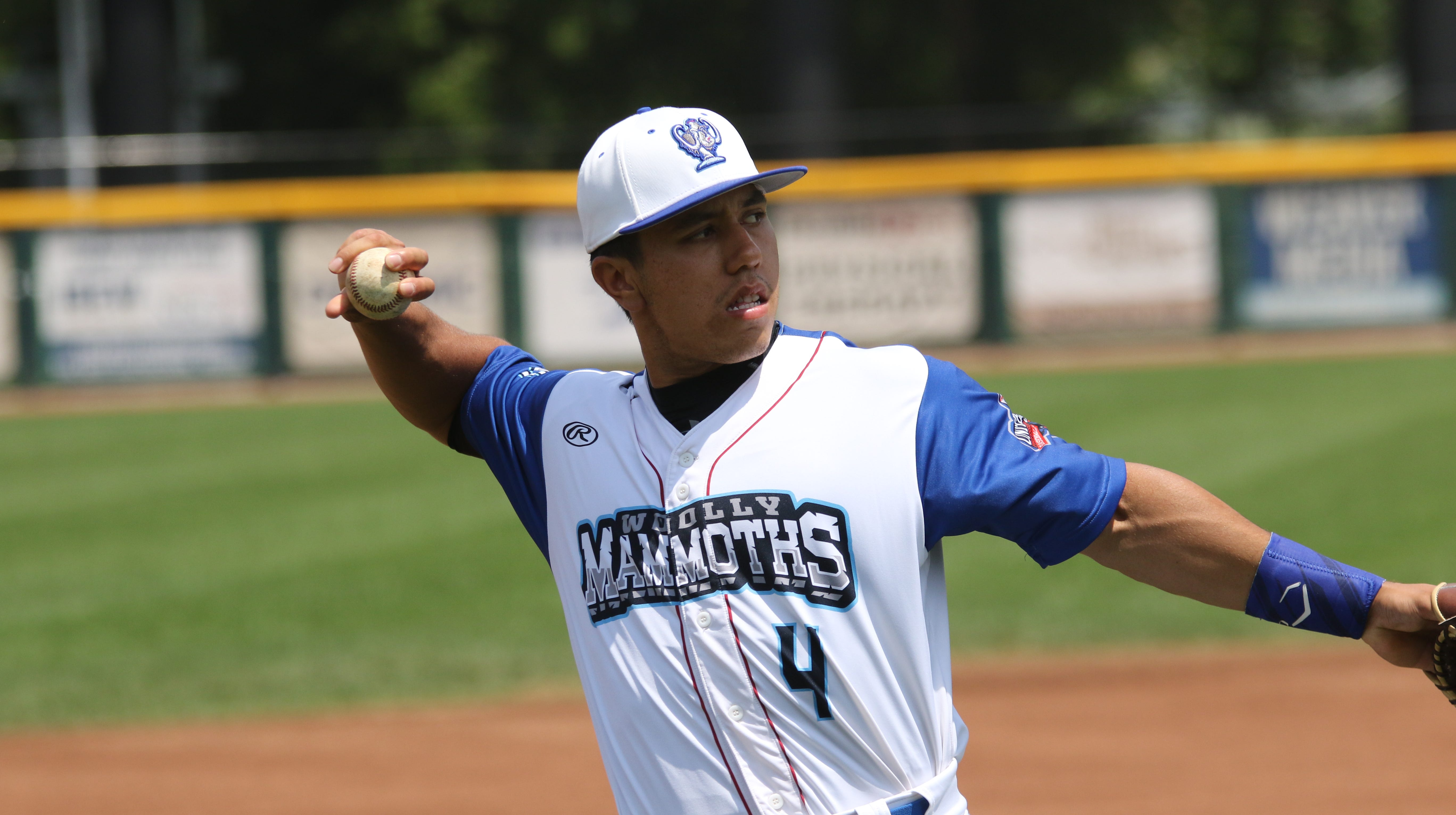 Andrew Dundon of Lincoln Park is an infielder for the Westside Woolly Mammoths.