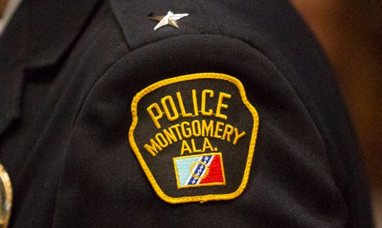 Montgomery Police Department patch