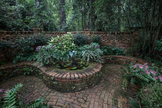 Grace Episcopal Church in Pike Road features a large garden area that is open to the public to visit.