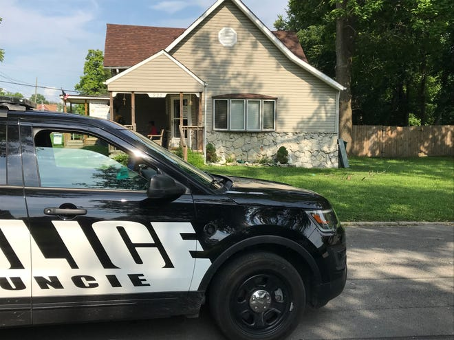 Muncie police responding to a report of gunfire at Park Avenue and Wolfe Street on Friday afternoon determined bullets had pierced the wall and windows of a nearby daycare center. No injuries were reported.
