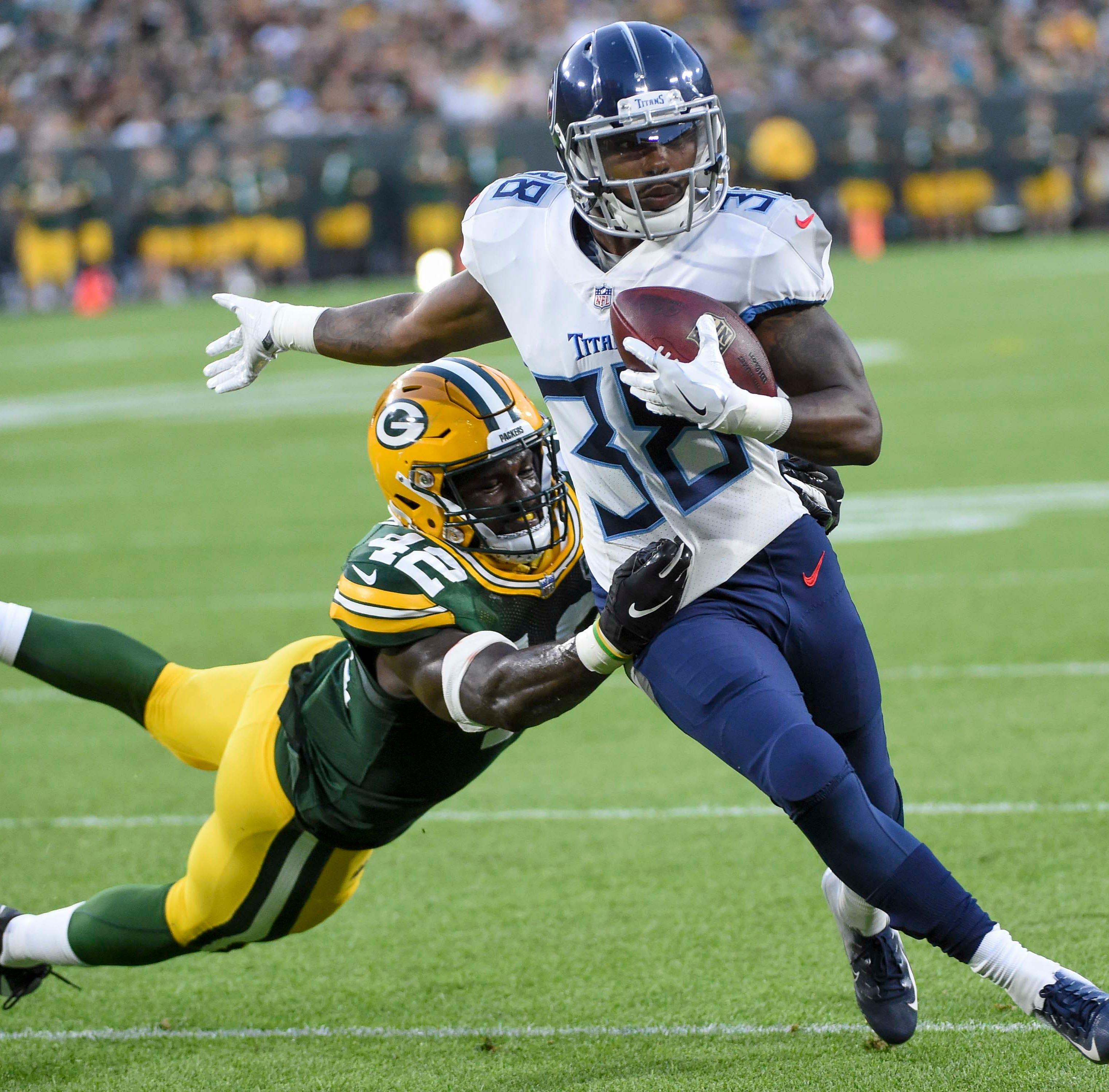Former Iowa running back Akrum Wadley shines in preseason debut against Packers
