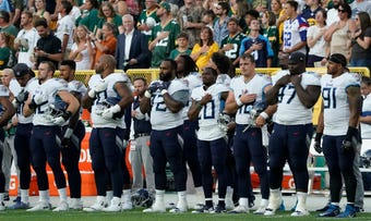 Despite the NFLs attempt to remove protests during the anthem, the players have already shown that they will continue using that platform this season