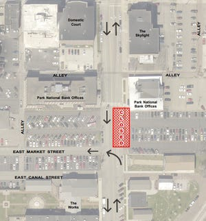Sewer repair work will result in a section of northbound South 1st Street to be closed from 7 a.m. to 5 p.m. on Monday, August 13 through Thursday, August 16.
