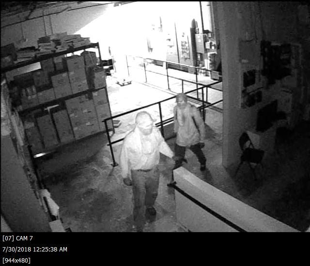 Licking County Crime Stoppers is offering up to a $1,000 reward for anyone with information leading to an arrest in a burglary at a pharmacy in Newark.