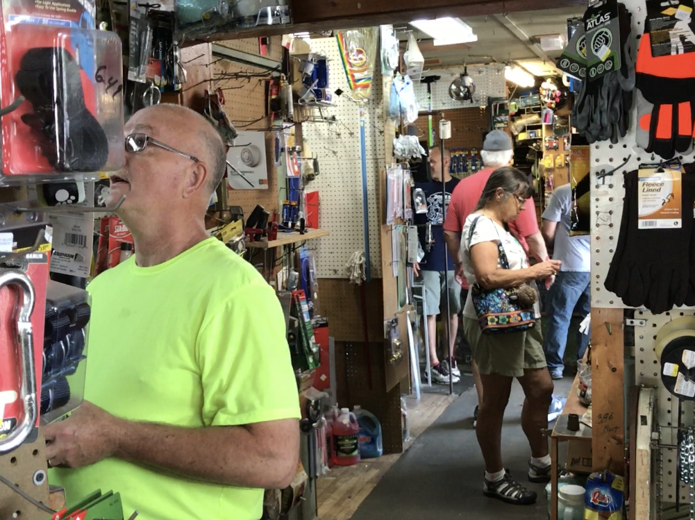 Jones Hardware, a historic fixture in Pequannock, closed on Aug. 9, 2018. Many friends, family, and regulars stopped by to say farewell.