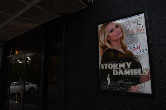 Stormy Daniels' canceled her appearance at Lace Gentlemen's Club on Thursday, August 9, 2018.