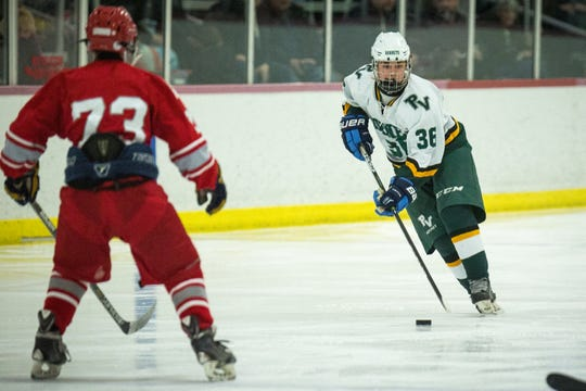 Passaic Valley's J.P. Winkle scored a lot of goals as a forward this summer.