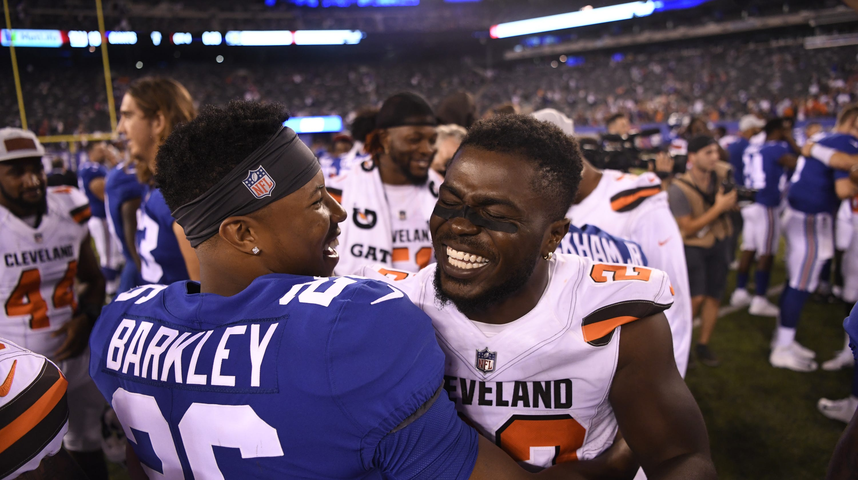 3c4578d9 Jabrill Peppers' NY Giants homecoming comes with familiar pressure