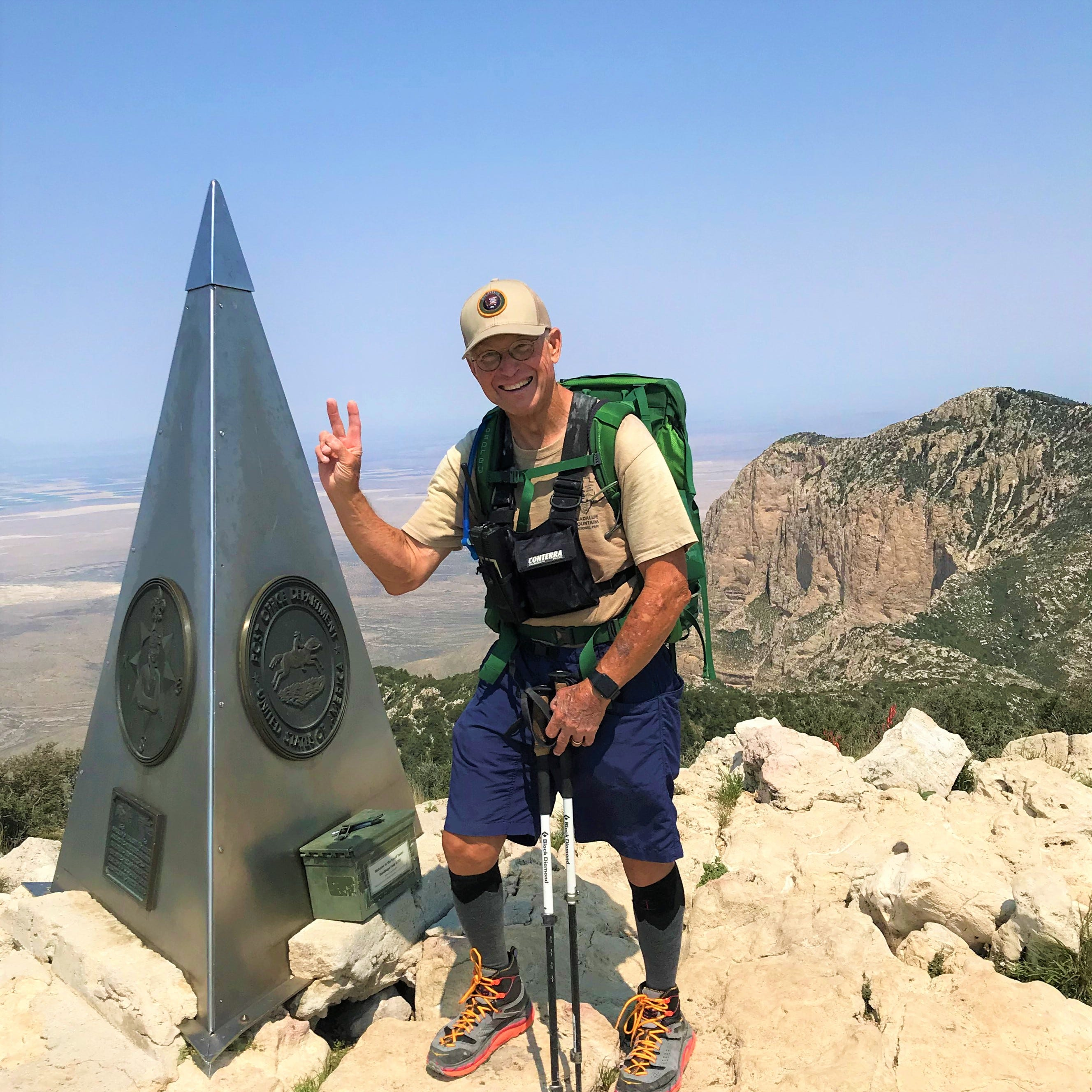 200 and climbing: Judge summits Guadalupe Peak .... again