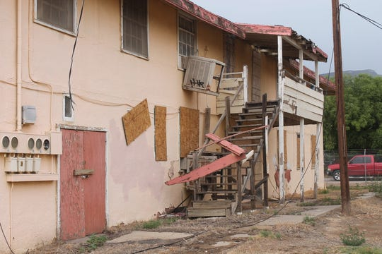 The Sahara Apartment complex, located on Cuba Avenue between 23rd and 25th Streets, has been uninhabited since 2010 and has caused numerous problems for its neighbors since then.