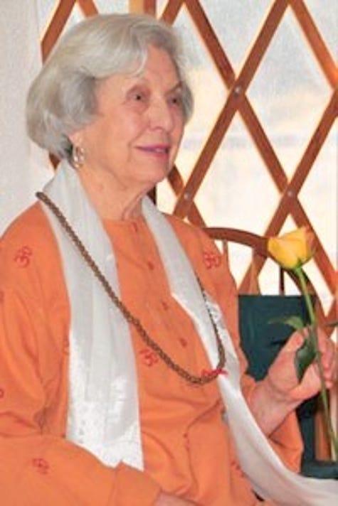 Barb Mader at the healing center
