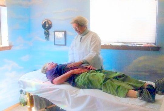 Barbara Mader uses energy healing as one therapy.