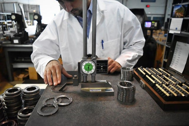 Aetna Bearing Co. is relocating from Franklin Park, Ill., to Livonia.