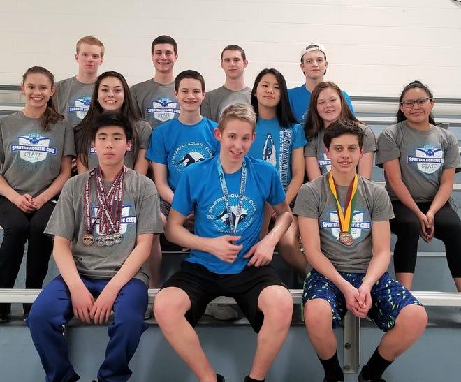 The Spartan Aquatic Club of Novi recently completed a successful summer season.