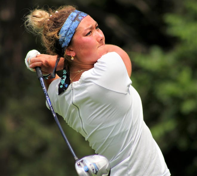 Muskegon's Aya Johnson, who plays the University of Wisconsin, is the defending Michigan Women's Amateur champion.