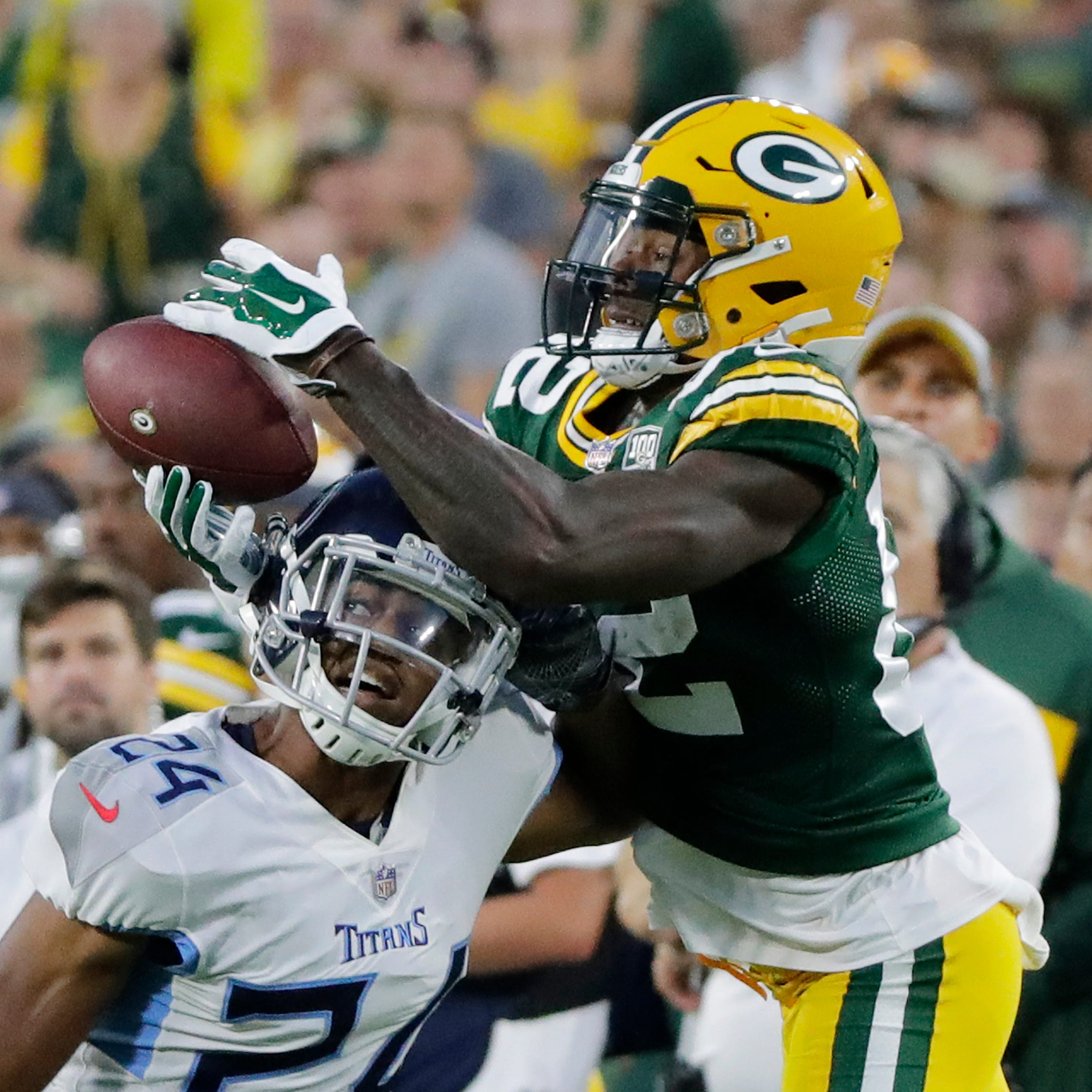 Rookie receiver J'Mon Moore, Packers waiting for 'that one big play'
